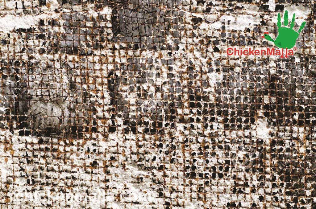 Oxidación y deterioro de la malla pollera